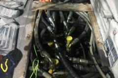 Hydraulikschläuche ersetzen