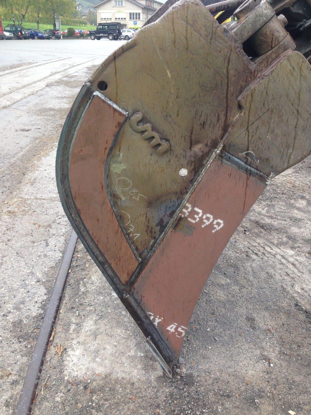 Reparatur und Revison von Böschungslöffel