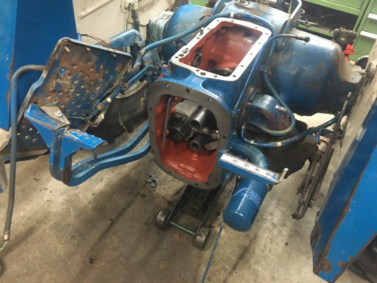 Reparatur Getriebe