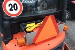 Gabelstapler Alu Werkzeugkiste und Beleuchtungsaufbau
