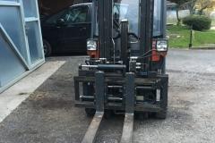 Gabelstapler Aufbau für Strassenzulassung