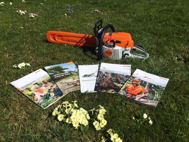 Stihl Programm Forst Garten